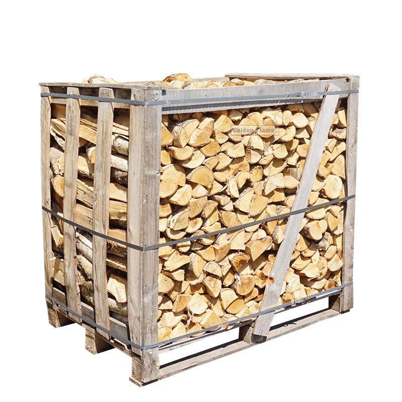 halve kist ovengedroogd berkenhout
