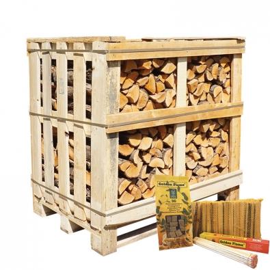halve kist ovengedroogd elzenhout actie