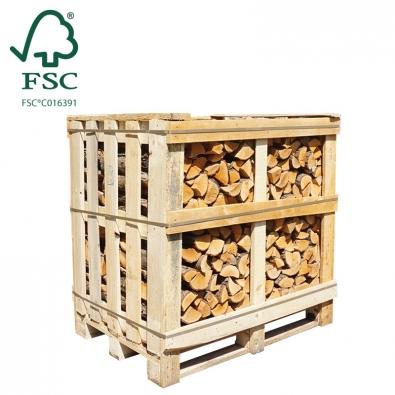 Halve kist ovengedroogd elzenhout FSC