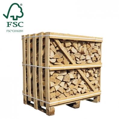 Halve kist ovengedroogd essenhout FSC