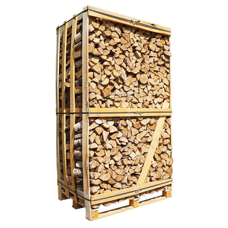 hele kist ovengedroogd haardhout berken