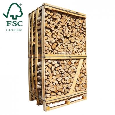 Hele kist ovengedroogd berkenhout FSC