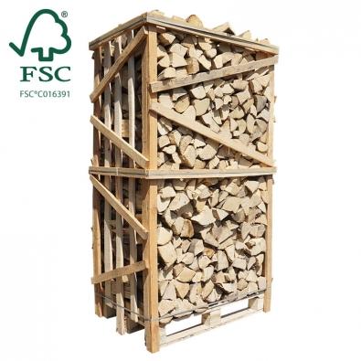 Hele kist ovengedroogd beukenhout FSC