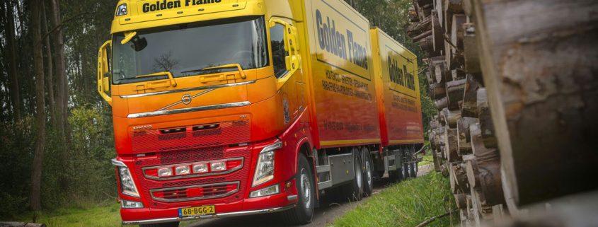 Volvo FH van Haardhout Golden Flame