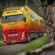 Volvo Truck Haardhout Golden Flame