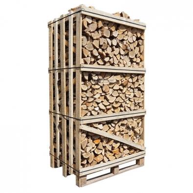 Hele kist ovengedroogd eikenhout