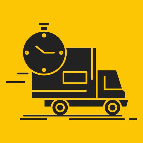 bestelling tijdslevering
