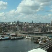 Bezorging haardhout in de binnenstad van Amsterdam