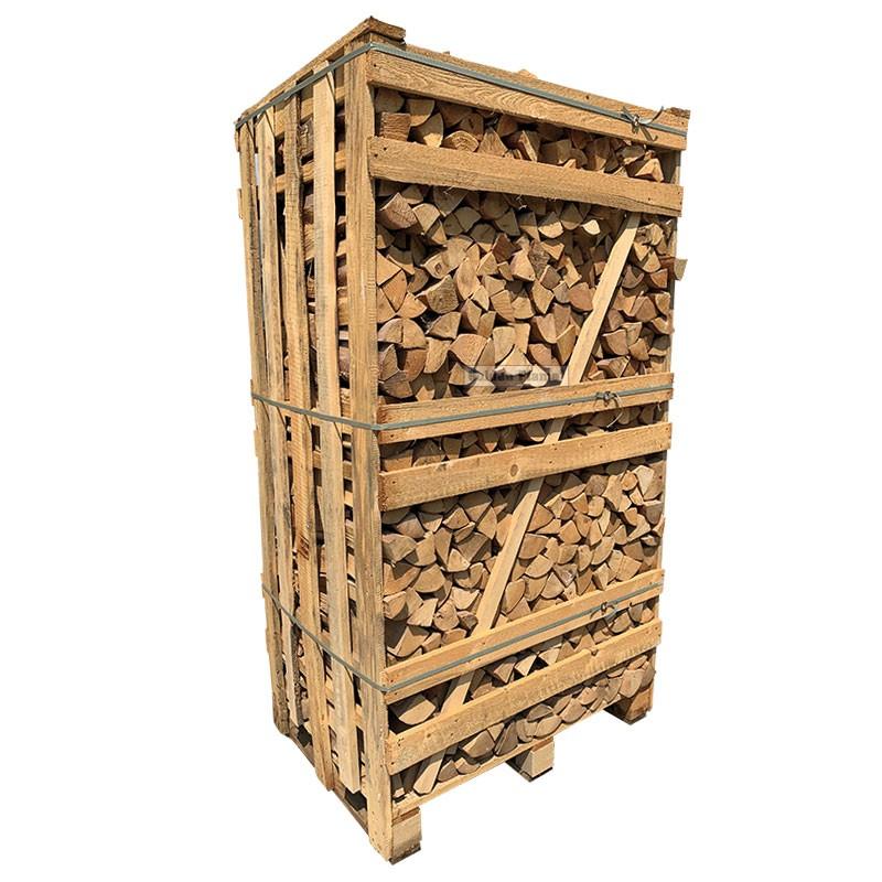 Hele kist ovengedroogd berkenhout zonder schors