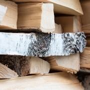 Openhaardhout stapelen